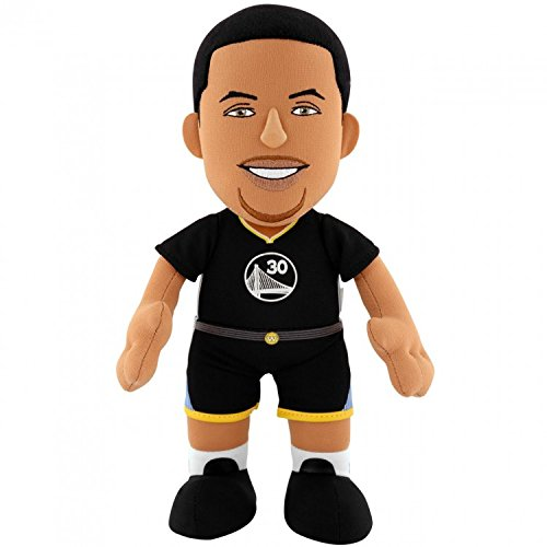 Golden State Warriors NBA 10' Plush Doll Stephen Curry Black Uniform