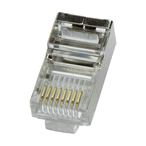 LogiLink Modularstecker Cat5 geschirmt 100 Stück