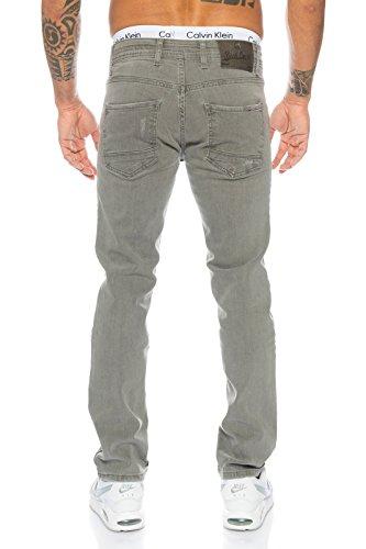 Rock Creek - Jeans - Jambe droite - Homme RC-2097-Grau