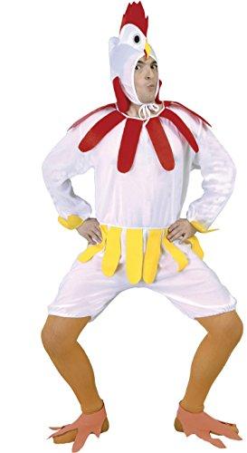 Head Chicken Kostüm - Huhn-Kostüm