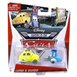 Disney World of Cars, Radiator Springs Die-Cast, Luigi & Guido #3,4/15, 1:55 Scale