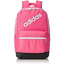 adidas BP Daily, Mochila para Hombre, Rosa (Rosrea/Carbon/Blanco), 24x36x45 cm (W x H x L)
