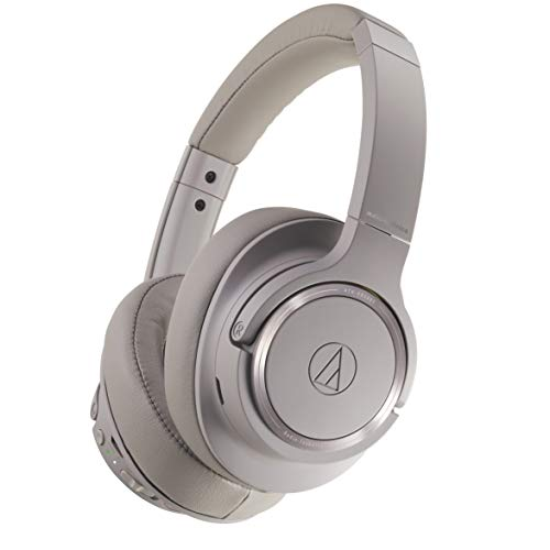 Audio-Technica ATH-SR50BT Kabelloser Over-Ear Kopfhörer, grau thumbnail