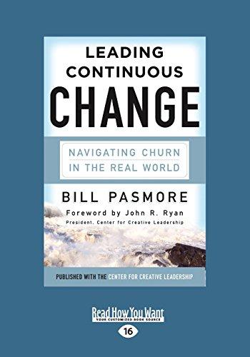 Leading Continuous Change (Large Print 16pt) por Bill Pasmore