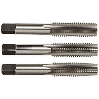 Alfa Tools CSHTS70533 1/4-28 Carbon Steel Hand Tap Set Taper/Plug/Bottom