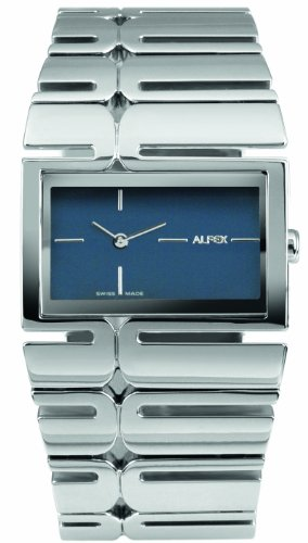 Alfex Women's Quartz Watch with Black Dial Analogue Display Quartz Watch 5665 _ 101