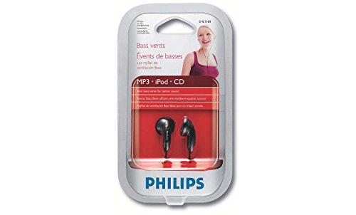 Philips SHE1360/97 In-Ear Headphones (Black)