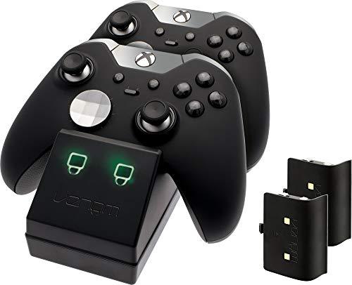 Venom Twin Docking Station für Xbox One – Ladestation für Xbox one Controller inklusive 2 Zusatz Akkus - 3