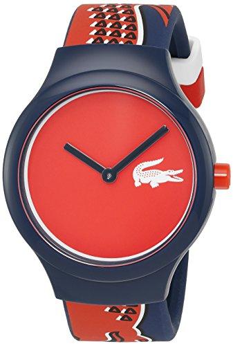 Lacoste 2020113 - Reloj de pulsera unisex, Silicona, color Azul