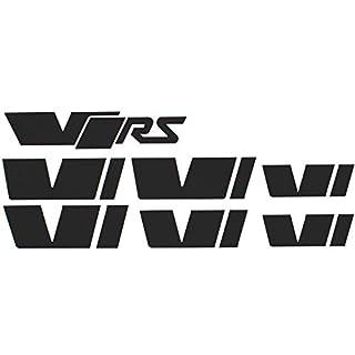058 VRS Emblem Folien Set (Schwarz Matt)