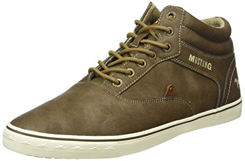Mustang 4103-501, Sneakers Hautes Homme Marron (3 braun)
