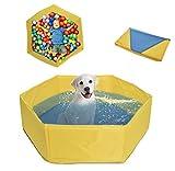Tina De Baño Para Perros Bebés, Bañeras Para Niños O Mascotas Parque Infantil Alfombra De Juego Ducha Plegable Bandeja De...