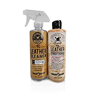 CHEMICAL GUYS LEATHER CLEANER & CONDITIONER KIT