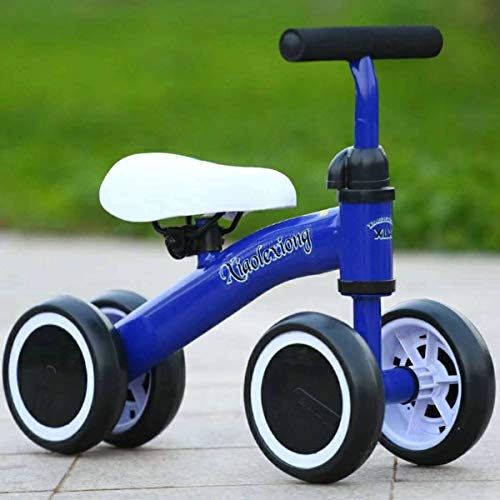Baby Walker, Riding Toys for Kids Baby Balance Bike Get Balance Sense No Foot Pedal Baby Kleinkinder 1-3 Jahre Child Tricycle Bike Outdoor Ride,A