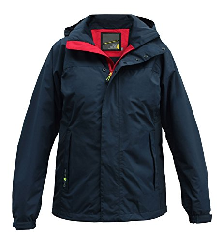 crazy4sailing Herren Segeljacke Bari Light Line Jacket, Farbe:blau, Größe:XL