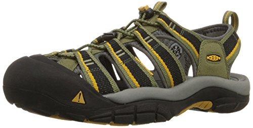 KeenNewport H2 - Scarpe da trekking e da passeggiata Uomo , Multicolore (Mehrfarbig (Burnt Olive/Golden Yellow)), 39.5