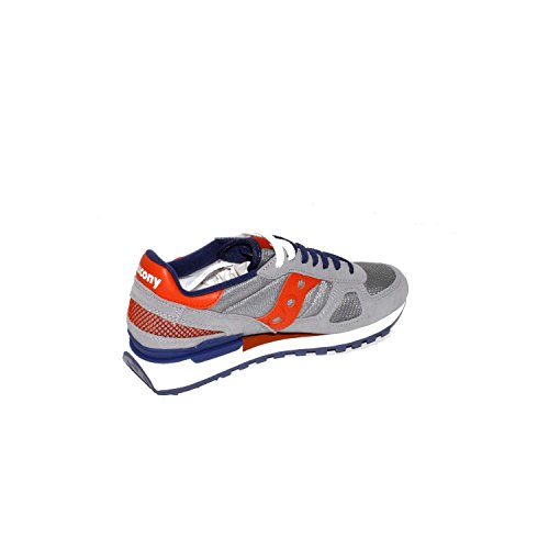 Saucony Shadow Original, Scarpe da Running Uomo Multicolore (Grey/Red/Blue)