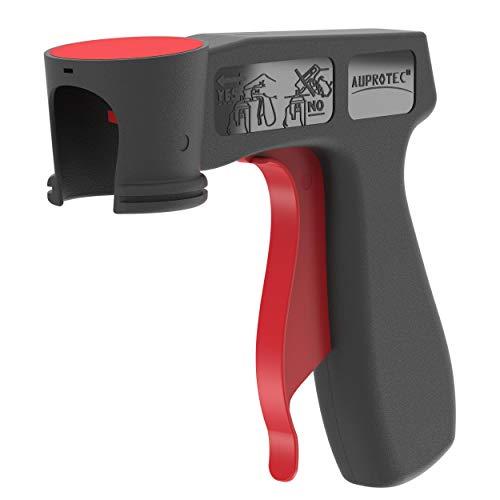 AUPROTEC Original Pistolengriff für Sprühdosen Spraydosen Handgriff Halter Griff Lackdosenhalter