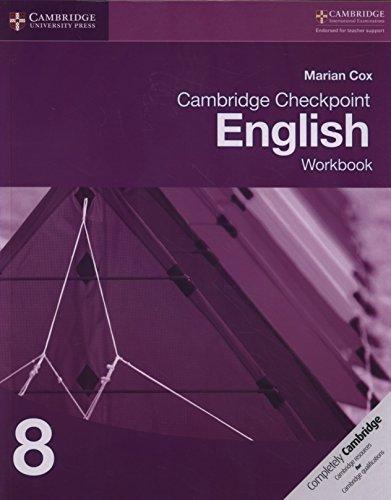 Cambridge checkpoint english. Workbook 8. Per le Scuole superiori. Con espansione online (Cambridge International Examinations)