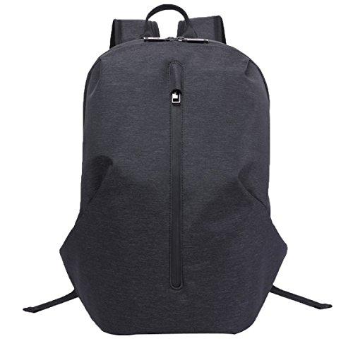 Preisvergleich Produktbild Doppelte Umhängetasche Männer Wasserdicht Und Freizeit Computer Tasche Mode Tasche College Student Tasche,Black-M