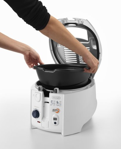 DeLonghi 551999 F 28533 Friteuse rotoFry, weiß - 5