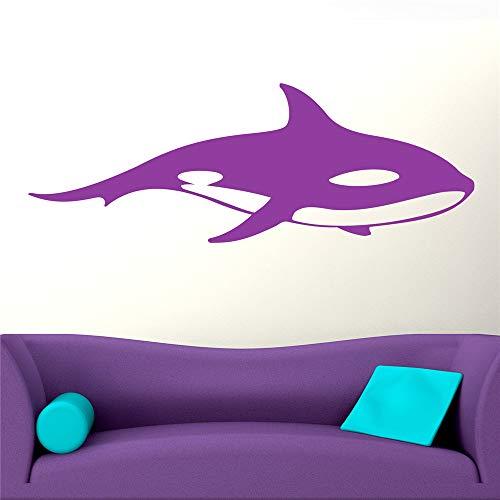 stickers muraux bebe papillon Orca Killer Whale Animal pour le salon chambre à coucher chambre d'enfants