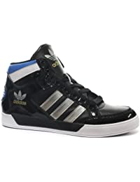 sports shoes 7e38d b2f42 adidas Originals HARD COURT HI Schwarz Blau Weiss Herren Schuhe Modish