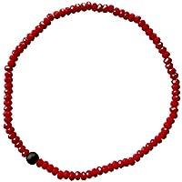 Roter Schnurenschutzedelstein streckt Armband Shungite mit Roten Kristallen preisvergleich bei billige-tabletten.eu