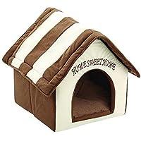STRIR 2 en 1 Cómodo Casa para Mascotas y Sofá, Interiores y Exteriores Portátil Plegable de Cama para Perro/Cama para Gato