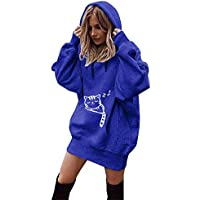 Lucky Mall Women Fashion Hoodies Pullover Toppe, Varm Sweatshirt