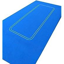 Start Spreading the News Ltd - Tapete de fieltro tamaño grande para jugar a póquer color azul (180 x 90 cm)