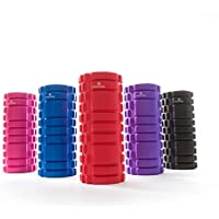 #DoYourFitness 120010842, #DoYourFitness Anasuya fascia roll, foam roller/Massage- and therapy rolls for effective self-massage/red (Sports & Outdoors)