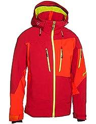 Phenix Mush II Jacket–Chaqueta de esquí rojo neon Amarillo, color rot - neon gelb, tamaño 48 / S