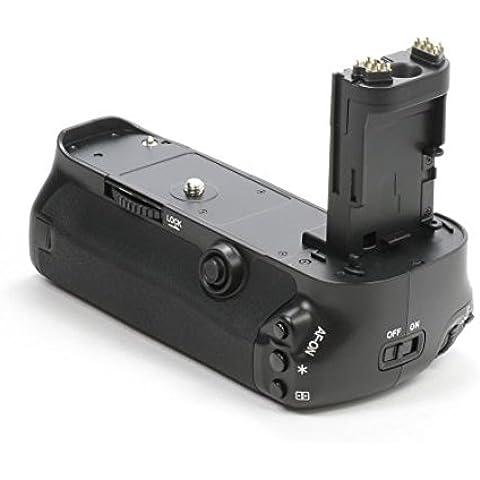 Impulsfoto–Empuñadura de batería para Canon EOS 5d Mark III como BG-E11, para baterías LP-E6)