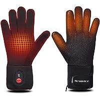CLISPEED Beheizbare Handschuhe Winter Beheizt Handw/ärmer Touchscreen Skihandschuhe f/ür Skifahren Fahrrad Radfahren Motorrad Wandern