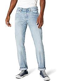 LEVI'S Men's 501 Original Fit Jeans, Blue (Mowhawk Warp Str 2550), W32/L34