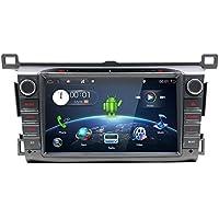 YUNTX Estereo de Doble DIN para Coche, en Dash Audio con Sistema de Navegación GPS