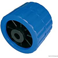 Rullo laterale blu Ø foro 15 mm English: Side roller blue Ø hole 15 mm