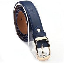 iShine Mujer Moda Casuales Cinturón Accesorios Vintage Piel Sintética  Correa Hebilla Cinturones Cinturón aed03dcc916c