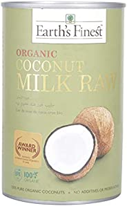Earth`S Finest Earth's Organic Coconut Milk Raw, 40