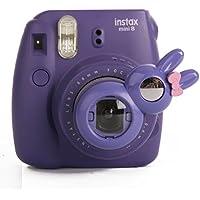 Woodmin Coniglio Ancora Close Up selfie Lense Für Fuji Mini 7s 8 Kamera (porpora)