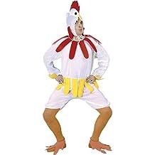 Guirca Disfraz adulto gallina, Talla 52-54 (80605.0)