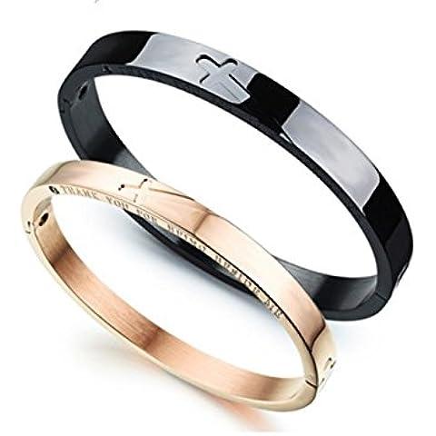 Uomo Donna Fashion Jewellery Retro Classic con
