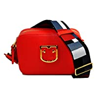 Furla Brava Ladies One Size Red Kiss Leather Crossbody Bag 1007893