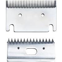 Replacement medium 3mm horse clipper blades. Fit Heiniger, Liveryman, Aesculap, Masterclip