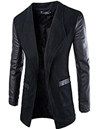 Jeansian Moda Chaqueta Abrigos Blusas Chaqueta Hombres Mens Fashion Jacket Outerwear Tops Blazer 9350