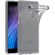 Funda Xiaomi Redmi 4, AICEK Transparente Silicona Fundas para Xiaomi Redmi 4 / Redmi 4 Prime Carcasa (5,0 Pulgadas) Silicona Funda Case