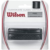 Wilson Unisex Basisgriffband CA Classic Contour, schwarz, 1 Stück, WRZ4203BK