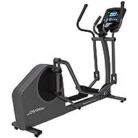 Life Fitness - bicicleta elíptica E1 con consola GO