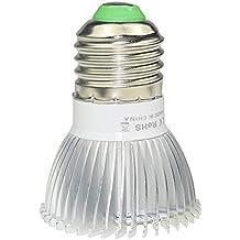 Sotoboo - Bombilla LED de 18 W para luz de planta, espectro completo, iluminación